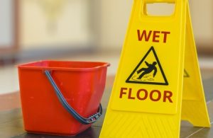 Wet Floor Sign - Accidents and Personal Injury