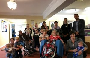 Friend in Deed 'Little Visitor' session at Brooklyn House Care Home
